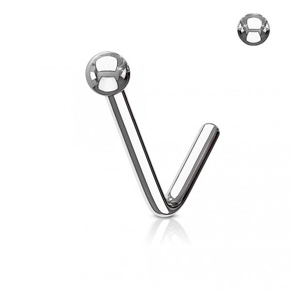 Piercing do brady - labreta špička 3 x 3 mm