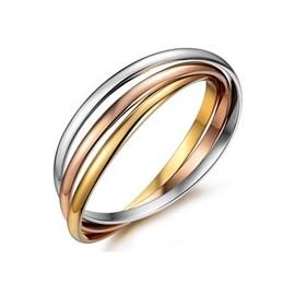 Stříbřený prsten na nohu - řetěz