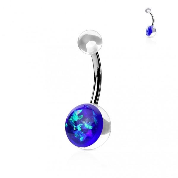 Moderní ocelové náušnice - perličky/kuličky korálové