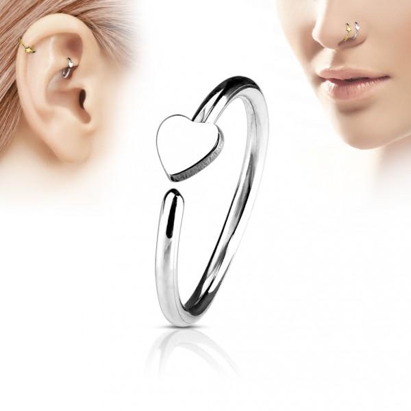 Zásnubní prsten chirurgická ocel, velikost prstenu 55