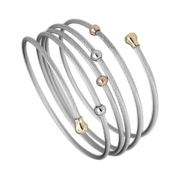 Asymetrický ocelový prsten, velikost prstenu 52