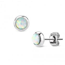 Ocelový přívěšek - perlička šedá