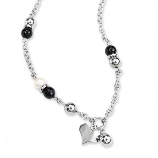Ocelové náušnice - kroužky s hvězdami