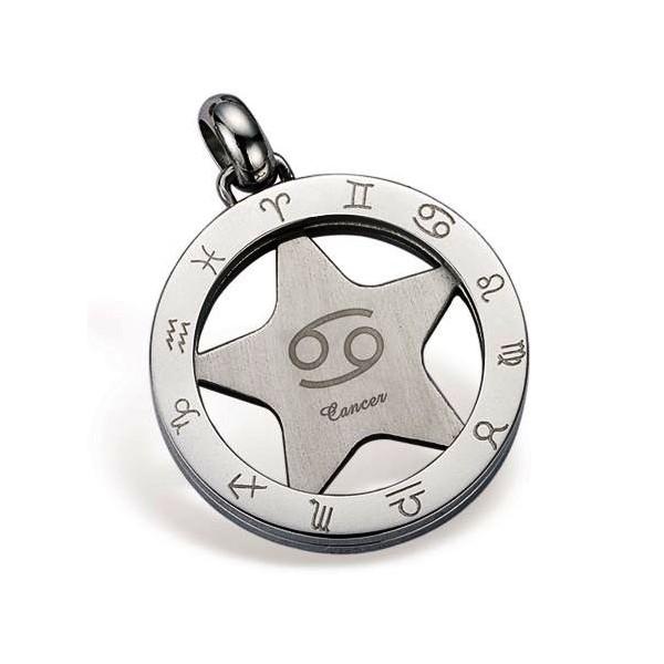 Dámský ocelový náhrdelník - srdíčko, délka řetízku 45 cm