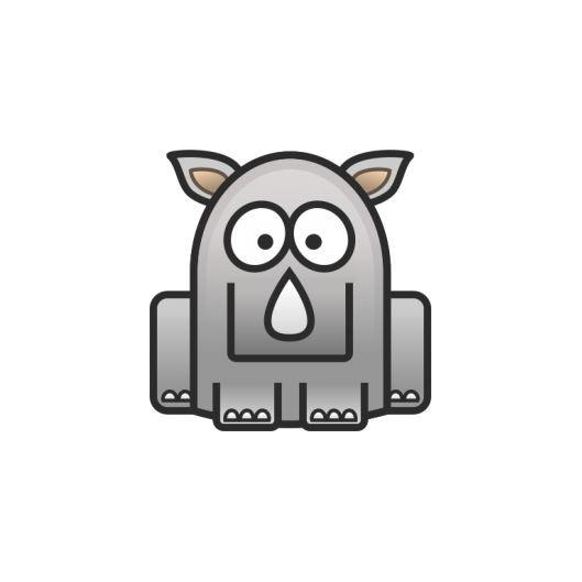 Ocelový přívěšek s tyrkysovým zirkonem