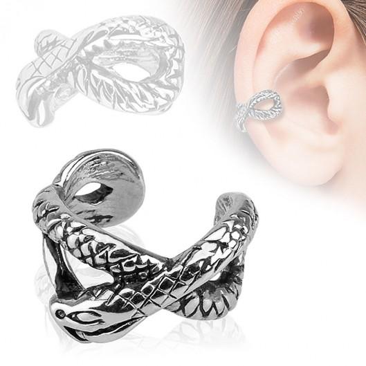 Netradiční propletený prsten, velikost prstenu 52