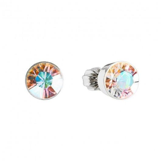 Stříbrný prsten se zirkony, velikost prstenu 55