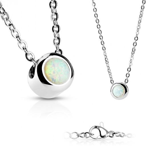 Ocelový prsten zdobený krystaly RSW1020, velikost prstenu 59