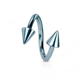 Stříbrný prstýnek na nohu - zirkon 3,5 mm