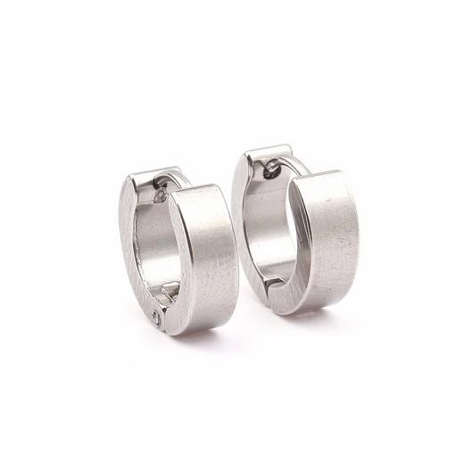 Ocelový prsten zdobený krystaly RSW1023, velikost prstenu 54