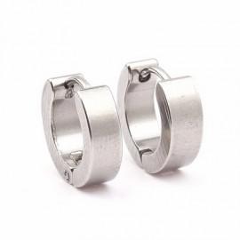 Ocelový prsten zdobený krystaly RSW1023