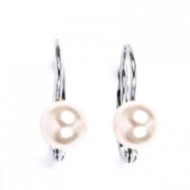 BUKA Perlový náhrdelník Buka Mutiara – velké černé perly