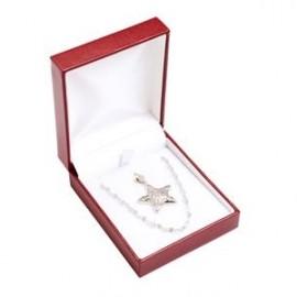 Stříbrný prsten s růžovou perlou 7,5 mm, vel. 52