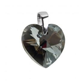 Ocelový řetízek s přívěškem - LOVE