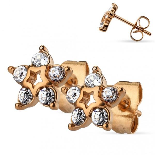 Zlatý piercing do pupíku, Au 585/1000