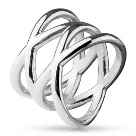 Stříbrný set náušnic a přívěšku s krystaly Crystals from Swarovski®, Crystal kapky