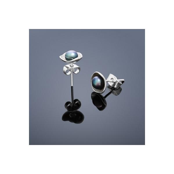 Ocelový náhrdelník se srdíčkem, délka řetízku 45 cm