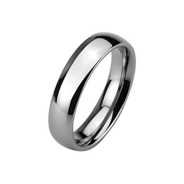 Dámský ocelový prsten se zirkony, velikost prstenu 52
