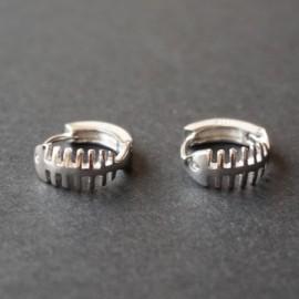 Stříbrný prsten peříčko pírko