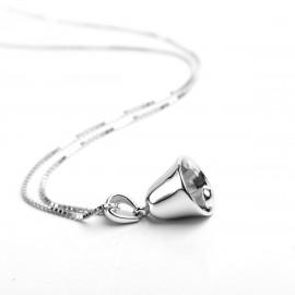Stříbrný náhrdelník zvoneček