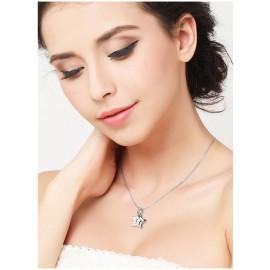 Stříbrný náhrdelník s hvězdičkami