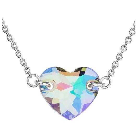Stříbrný náhrdelník srdce Crystals from Swarovski® Paradise Shine 5fbd239850f