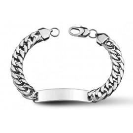 Stříbrný řetízek - had 0,9 mm, délka 60 cm