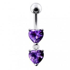 Stříbrný náhrdelník s přívěškem srdce