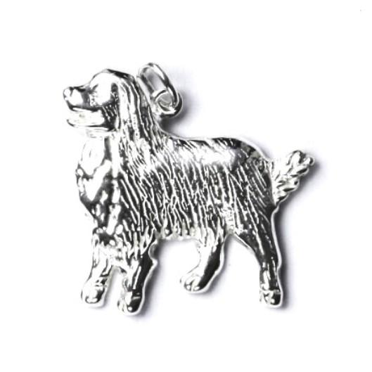 Stříbrný přívěšek bernský salašnický pes