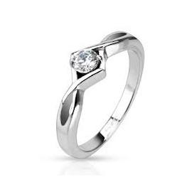 Zásnubní prsten chirurgická ocel OPR1489