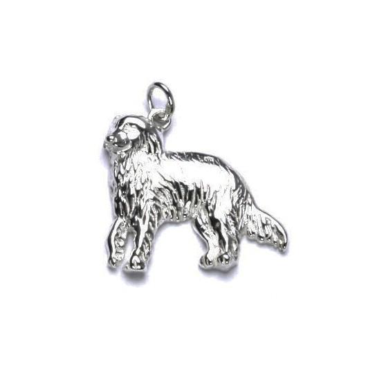 Stříbrný přívěšek pes irský setr