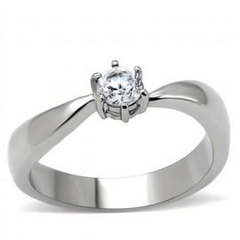 Ocelový prsten se zirkonem OPR1486