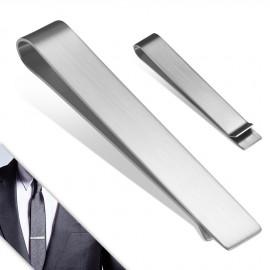 Spona na kravatu z chirurgické oceli - matná