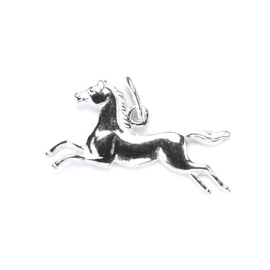 Stříbrný přívěšek kůň