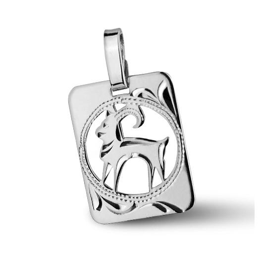 Stříbrný přívěšek znamení KOZOROH