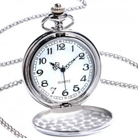 Kapesní hodinky otevírací - cibule, broušený povrch