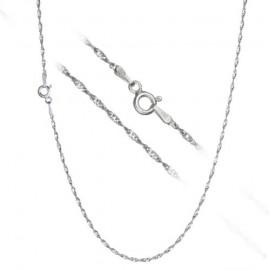Stříbrný řetízek lambada - kroucený, délka 38 cm