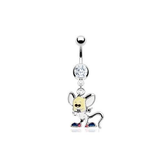 Piercing do pupíku - myška