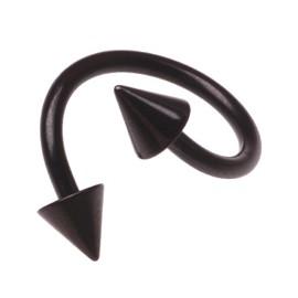 Černá spirála - kónus