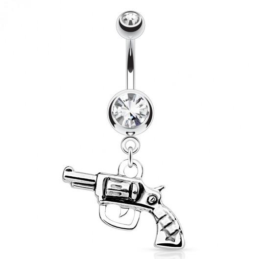 Piercing do pupíku - revolver