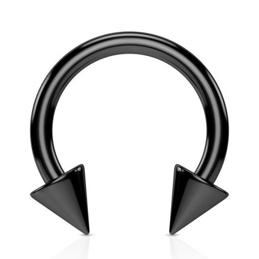 Piercing - podkova eloxovaná ocel