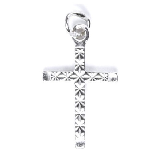 Stříbrný přívěšek - křížek