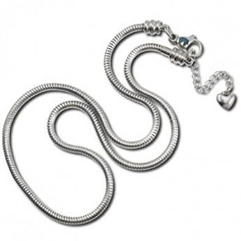 Ocelový náhrdelník - had, délka 45 cm