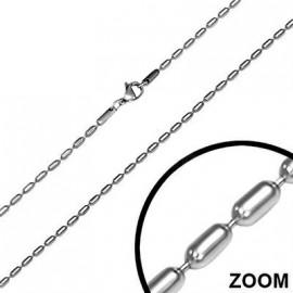 Řetízek - had 1 mm, délka 60 cm
