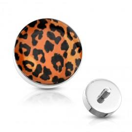Microdermal - ozdobná část - vzor leopard