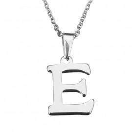 """Ocelový řetízek s přívěškem iniciála """"L"""""""