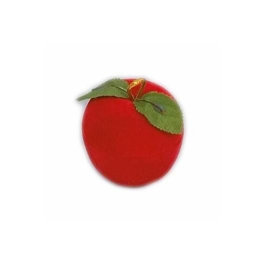 Dárková krabička semiš - jablko