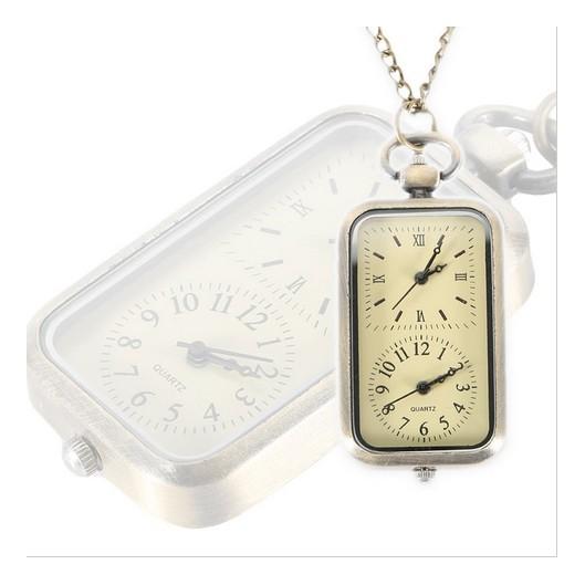 Obdélníkové kapesní hodinky 91f01d7e1a