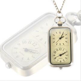 Obdélníkové kapesní hodinky