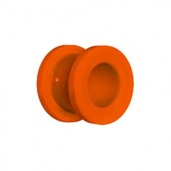 Oranžový akylátový tunel šroubovací